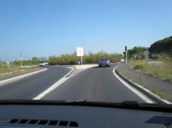 Kreisverkehr Frankreich