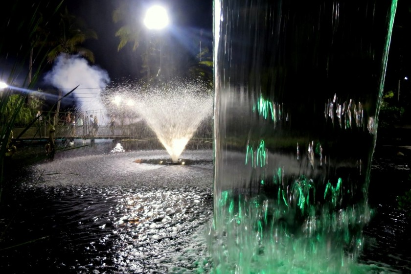 Wasserspiele im Castle Golf in Fort Myers