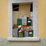 Carrara Briefkasten Chaos