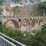 Carrara Brücke Steinbruch