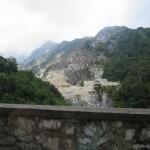 Carrara Steinbruch Berg