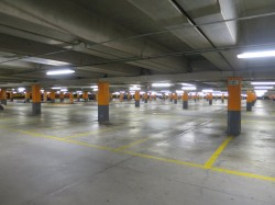 Centro Commercial Carosello Mailand Tiefgarage
