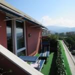 Chiavari Hotel Santamaria Balkon