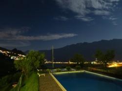 Der Panoramapool vom Hotel Garni Al Poggio