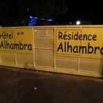 Hotel Alhambra Agde Tor Einfahrt
