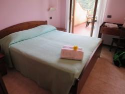 Unser Zimmer im Hotel Garni Al Poggio in Piovere
