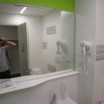 Badezimmer im Hotel Ibis Styles Milano Agrate Brianza