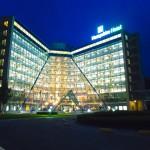Hotel Groningen Hampshire Nachtaufnahme