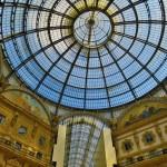 Dach der Galleria Vittorio Emanuele II in Mailand