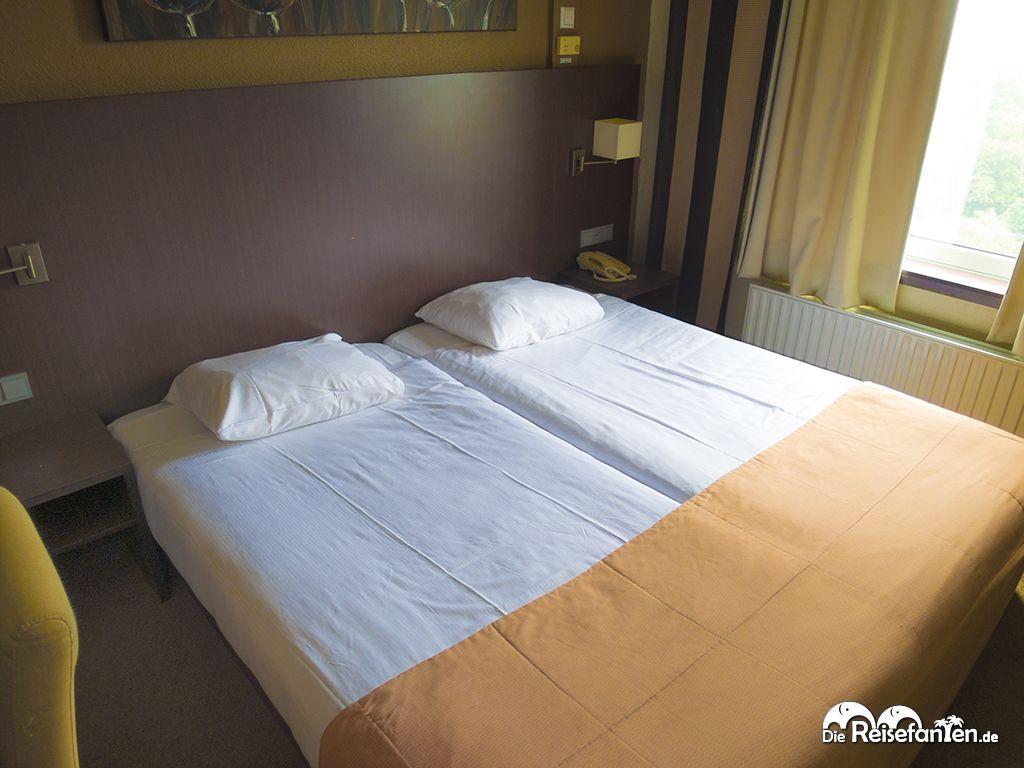Hotelzimmer Hampshire Groningen Doppelbett