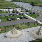 Luftaufnahme Sandskulptur Winschoten