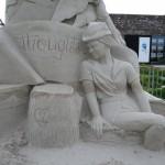 Peter Pan Sandskulptur Winschoten