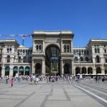 Platz vor Dom in Mailand