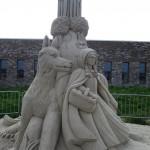 Rotkäppchen Sandskulptur Winschoten
