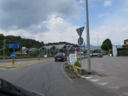 Typisch für Italien: Kreisverkehr statt Ampelkreuzungen