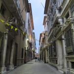 Via Garibaldi Genua Nacht