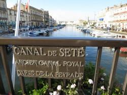 Kanal Sète Südfrankreich