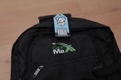 CabinMax Rucksack Produktschild