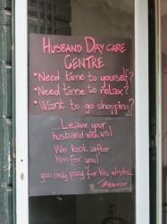 Ehemann in die Betreuung geben