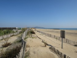 Frankreich Sète Strand Meer