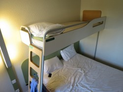 Hotelzimmer im Ibis Budget Sud-Près d'Arènes