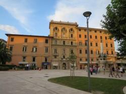 Zentraler Platz von Montecatini Terme