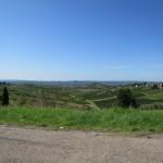 Grandiose Aussicht in der Toskana zwischen Montecatini Terme und Florenz