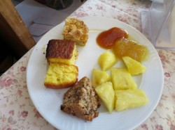 Süßes Frühstück  im Hotel Borghetti in Verona
