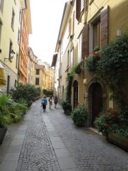 Die Fußgängerzone von Salò