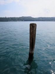 In Salò kommt man noch direkt bis an den Gardasee heran
