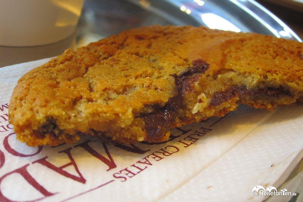 Auch Cookies gibt es bei Pret a Manger