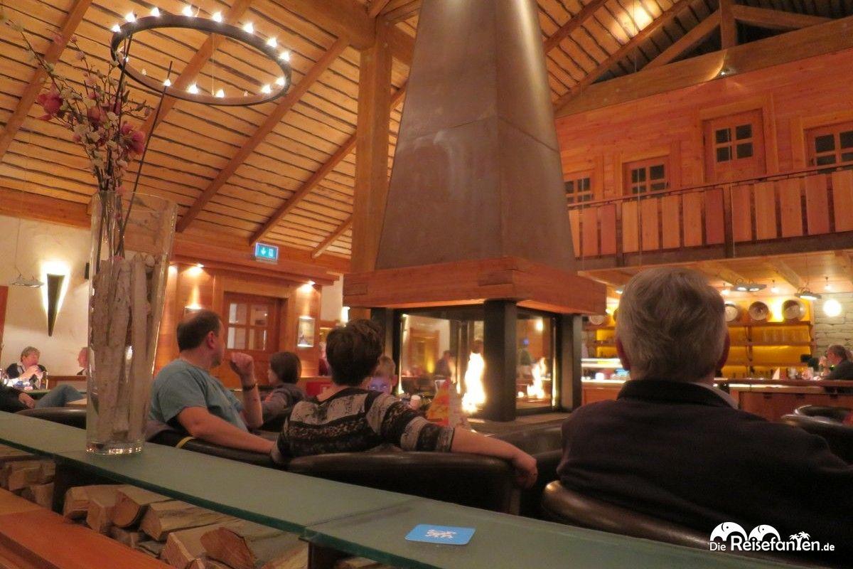 In der Bavaria Alm, die ebenfalls zum Torfhaus Harzresort gehört, herrscht ein Hüttenfeeling