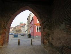 Das Wassertor der Hansestadt Wismar