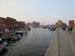 Der Stadthafen der Hansestadt Wismar