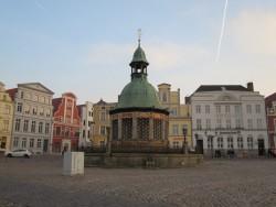 Die Wasserkunst Wismar ist das Wahrzeichen der Hansestadt