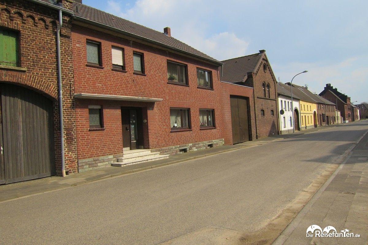 Verlassene Straßen in Immerath