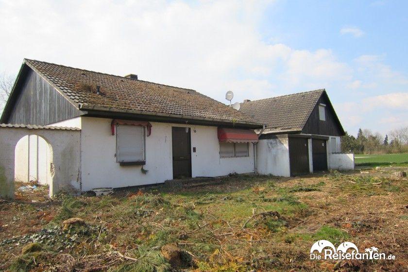 Verlassenes Haus am Stadtrand von Immerath