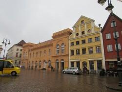Das Altstädtische Rathaus von Schwerin ist in seiner Geschichte bereits drei Mal abgebrannt