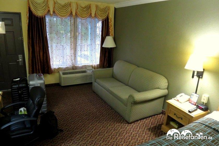 Große Zimmer im americas best value inn fort myers