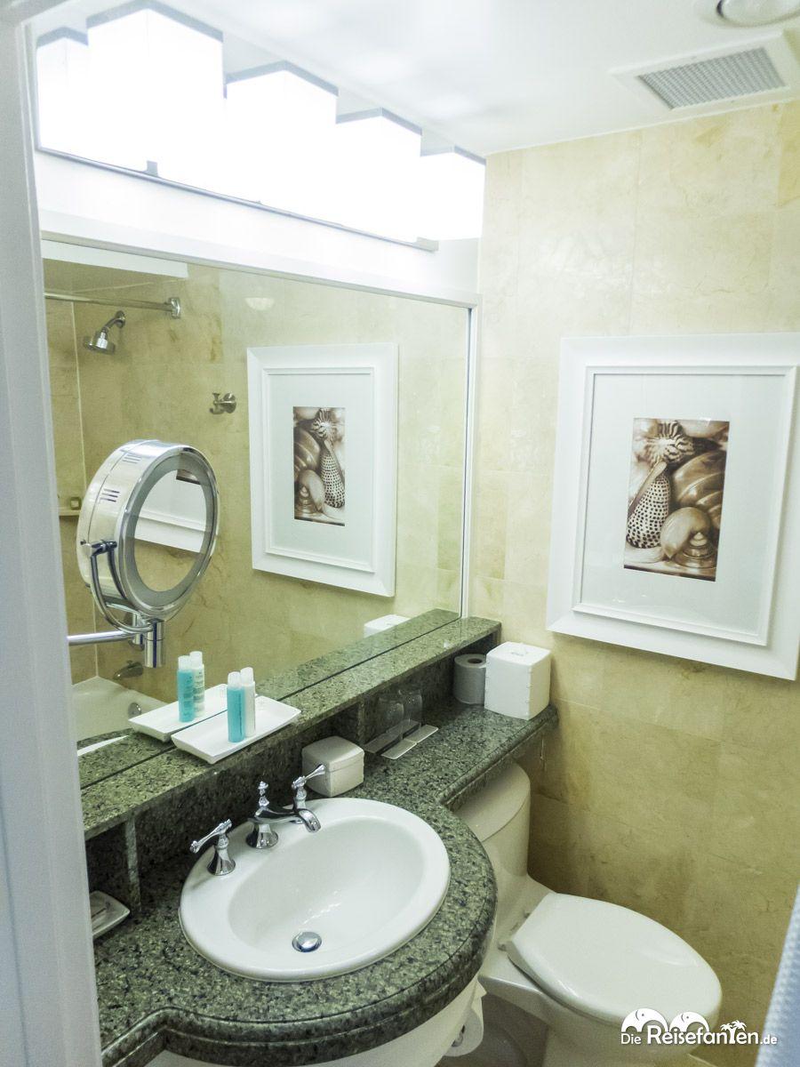 Ein schönes Badezimmer gab es im Don Cesar Hotel in St. Pete ...