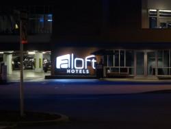 Auch Valet Parking bietet das Aloft Hotel in Tampa an