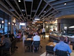 Blick in das Restaurant Ava in Tampa