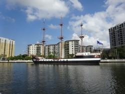 Die Jose Gasparilla im Hafen Tampas