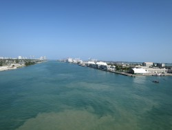Das Kreuzfahrtterminal in Miami