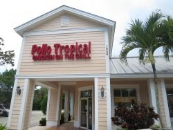 Das Pollo Tropical kommt in karibischer Anmutung