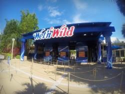 Der Eingangsbereich des Wet'nWild in Orlando