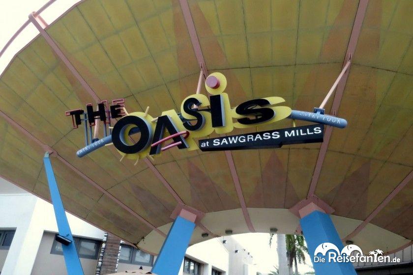 Die Sawgrass Mills in der Nähe von Fort Lauderdale in Florida