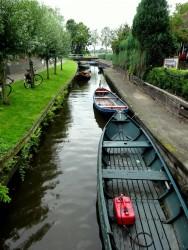 In Giethoorn gibt es rund 1000 Mietboote