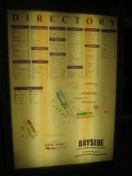 Karte des Bayside Marketplace in Miami