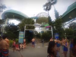 Keine Schlangen vor den Wasserrutschen im Wet'nWild in Orlando